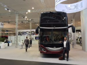 double decker with scalabros electric and manual shades