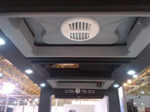 scalabros escape hatch with integrated roof top ventilator