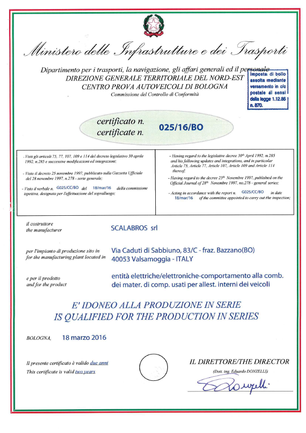 certificatoministero
