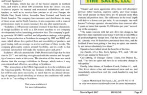 BUSLINE SCALABROS' EDITORIAL PAGE 67B